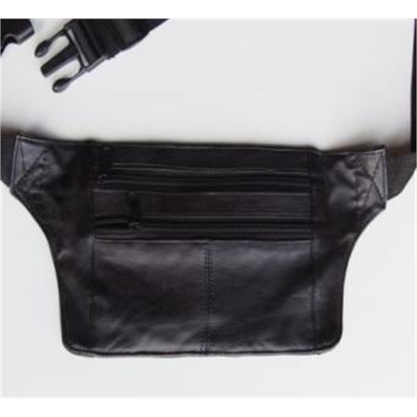 Slim Leather Fanny Pack