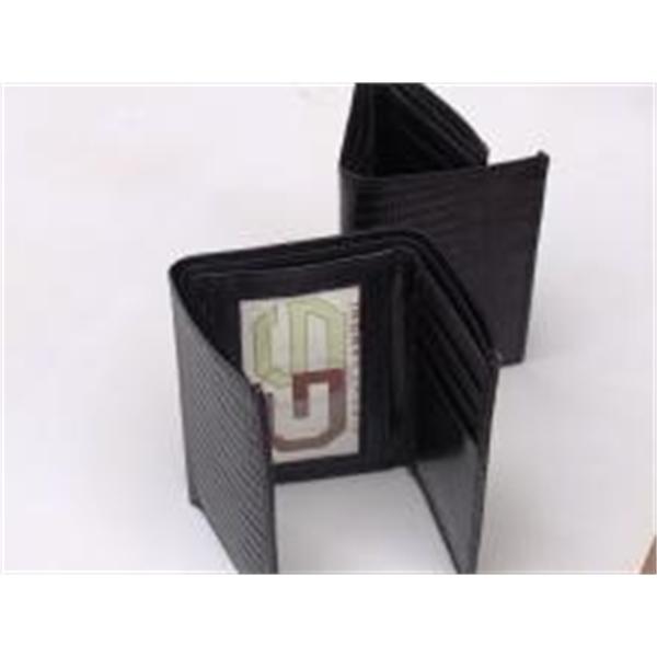 lizard print leather wallet wholesale | MAK Leather