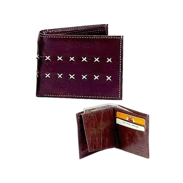 HAND STITCHED WHOLESALE LEATHER WALLET